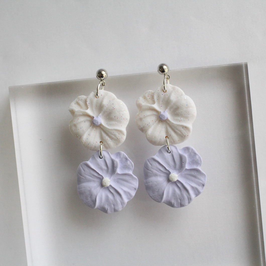 Wildflower (Lilac Duo Dangle)