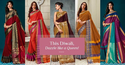 This Diwali, Dazzle Like A Queen!