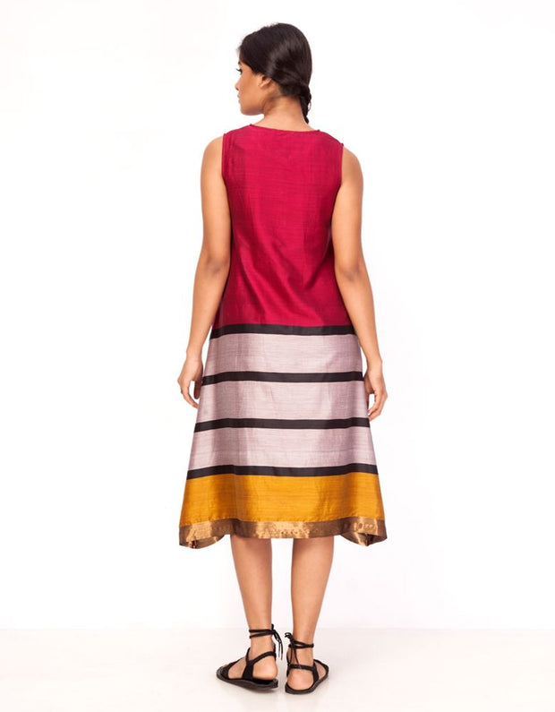 Kagazi Striped Dress