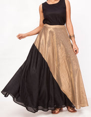 Sunehri Flared Skirt