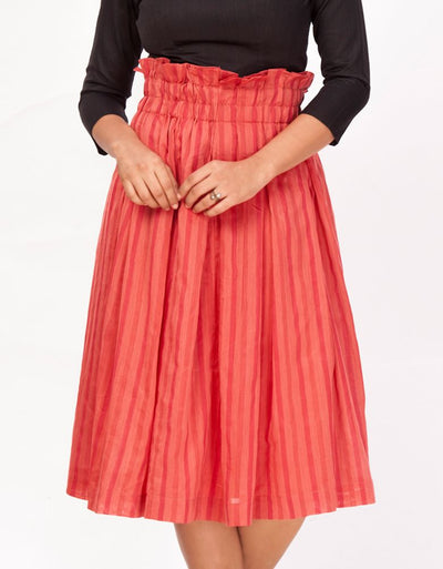 Jugni Pleated Skirt