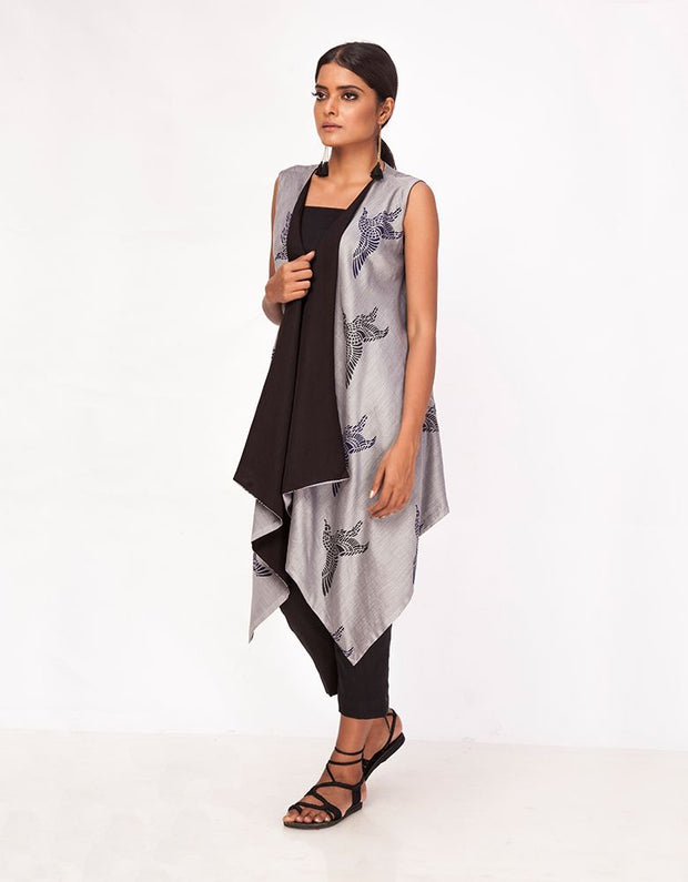 Papiha Printed Shrug