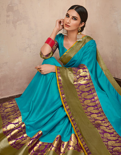 Parineeta Aqua Blue