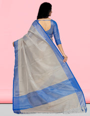 Sharvi Banarasi Blue Saree