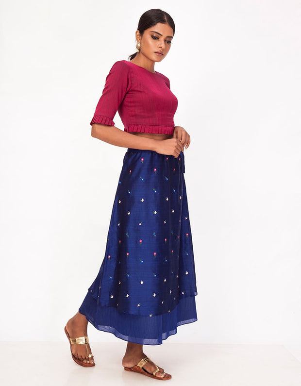Jhilmil Layered Skirt