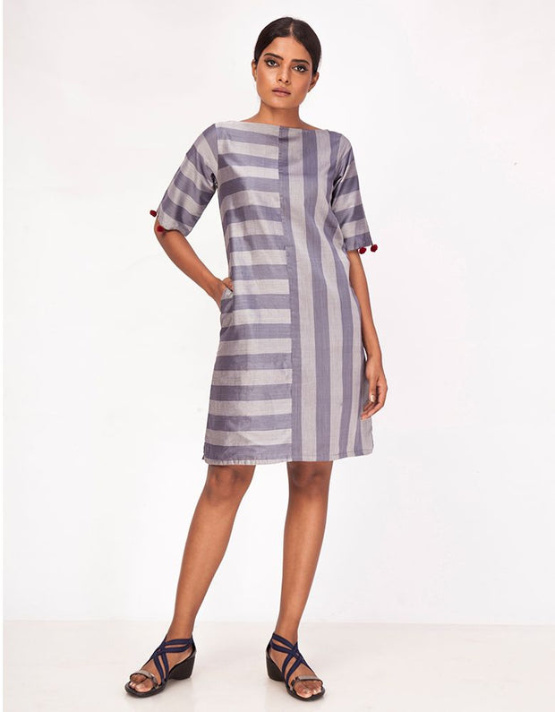 Manjha Striped Dress