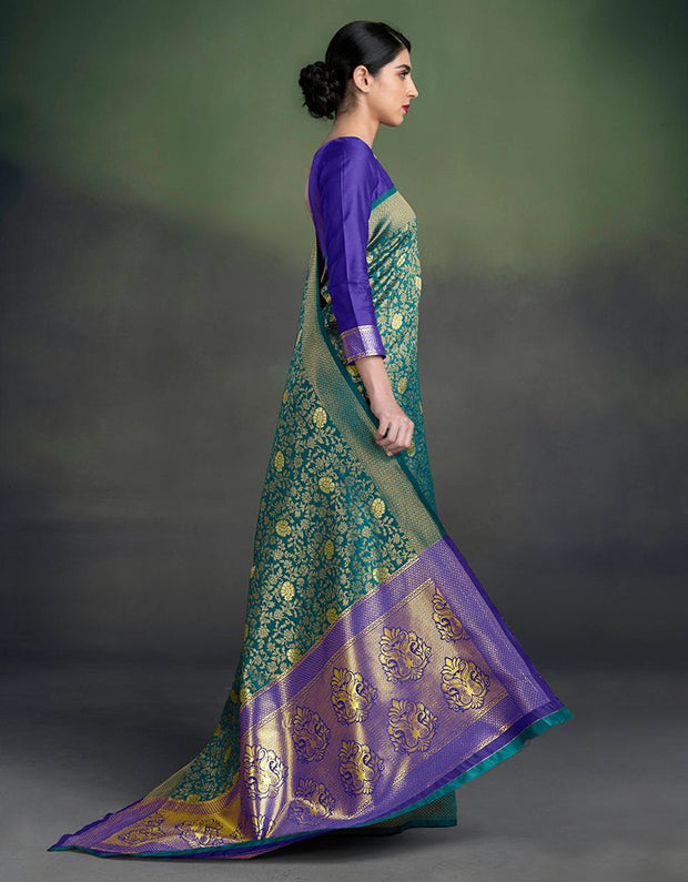 Mannat Peacock Blue