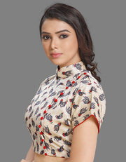 Off-White Kalamkari Blouse