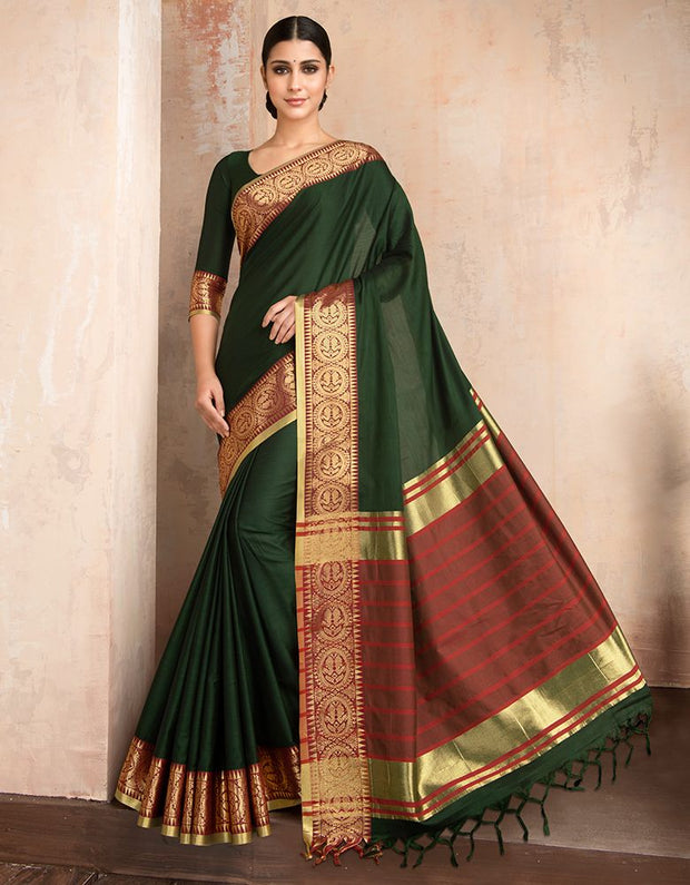 Parineeta Olive Green