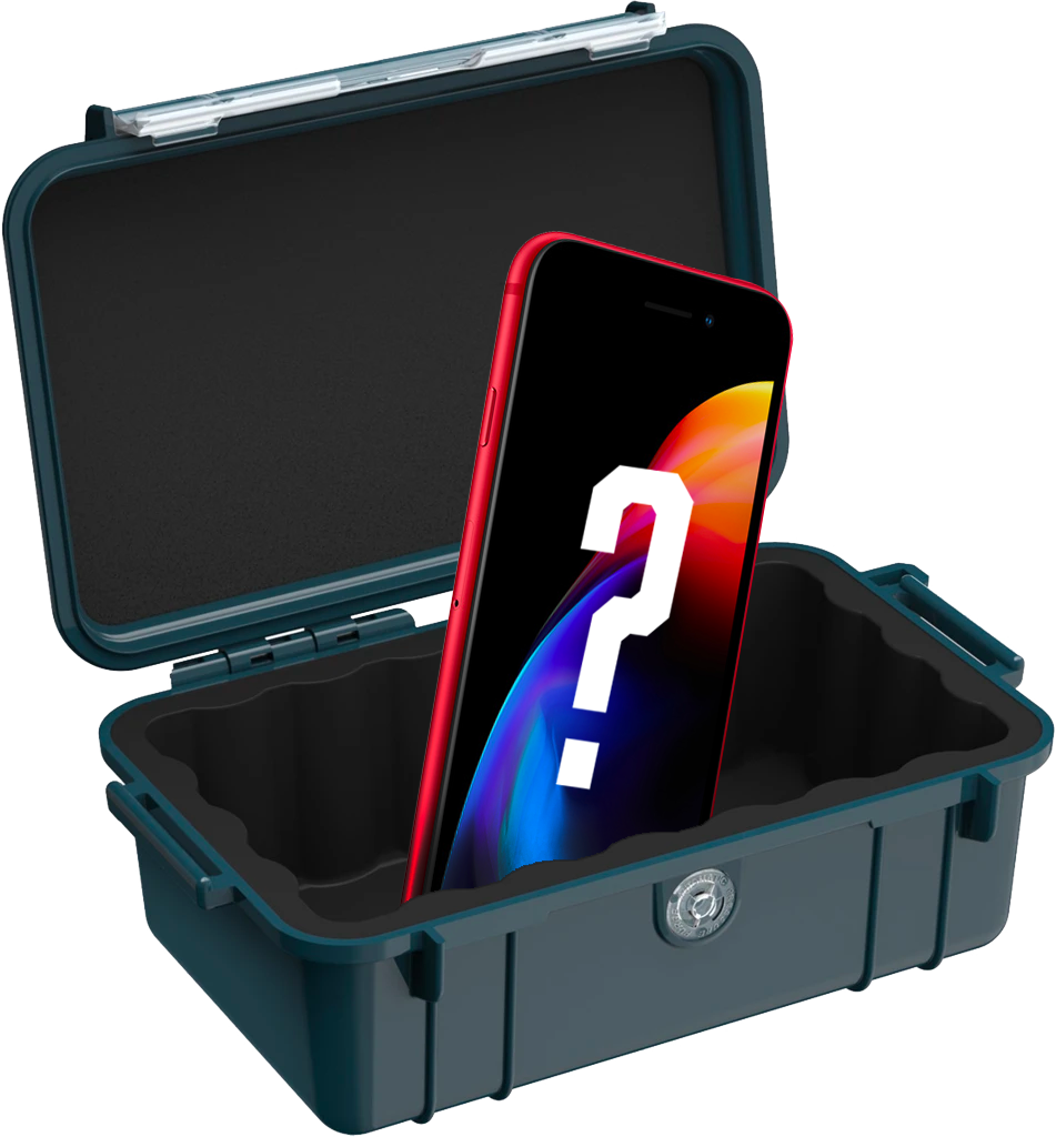 Will the Pelican 1050 or 1060 dry box hold my iPhone?