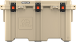 150QT Tan Pelican Elite Cooler