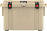 95QT Tan Pelican Elite Cooler