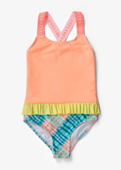 GINGHAM A' GO-GO SWIMMER