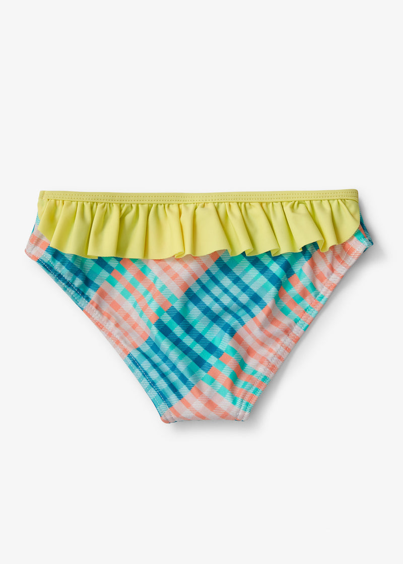 GINGHAM A' GO-GO FRILLY BUM