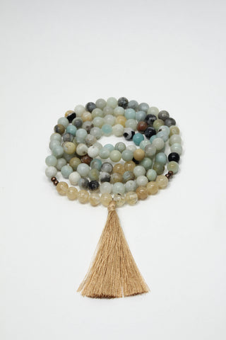Positivity-Amazonite-Mala-Bead-Necklace