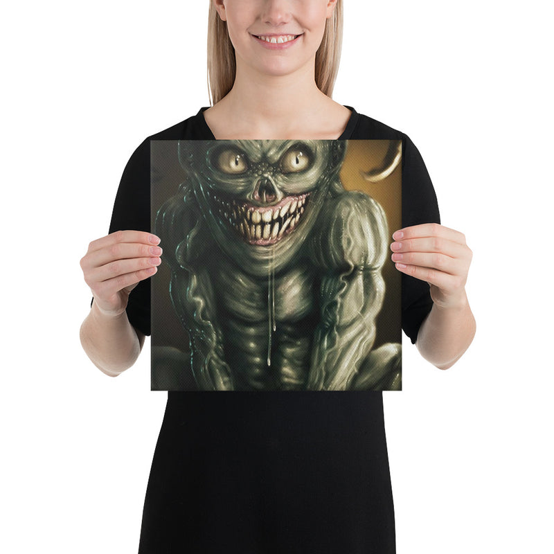Far From Hell Creature Canvas