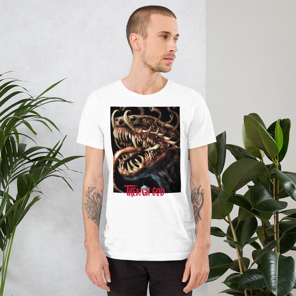 Trench God Short-Sleeve Unisex T-Shirt