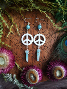Peaceful Amazonite Earrings