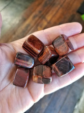 Red Tiger's Eye Tumbled Stone for Vitality