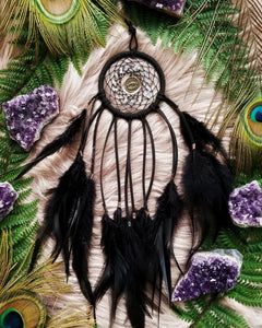 Zodiac Dream Catchers with Astrological Sign and Corresponding Birthstones