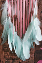 Pink and Mint Unicorn Inspired Dream Catcher
