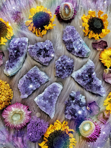 Amethyst Clusters for Intuition