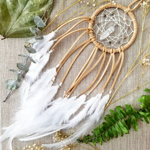 Sand Colored Natural Dream Catcher