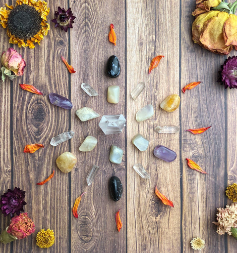 Crystal Grid Kit for Transformation & New Beginnings