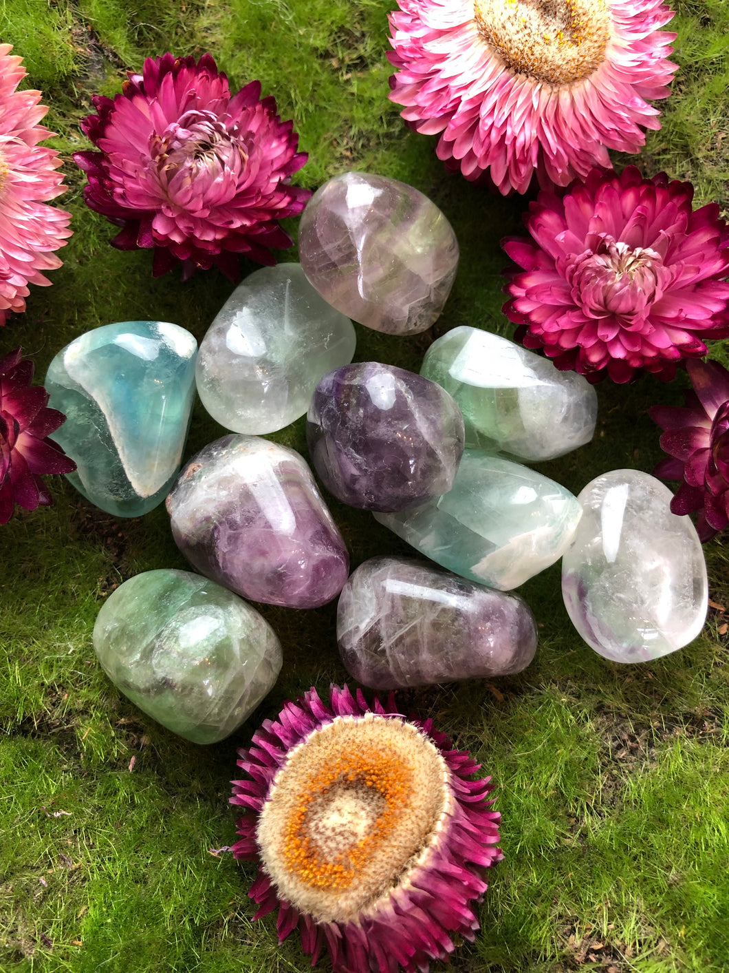 Rainbow Fluorite for Intuition