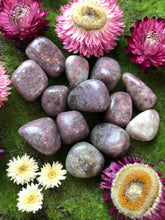 Lepidolite Tumbled Stone for Trust & Acceptance