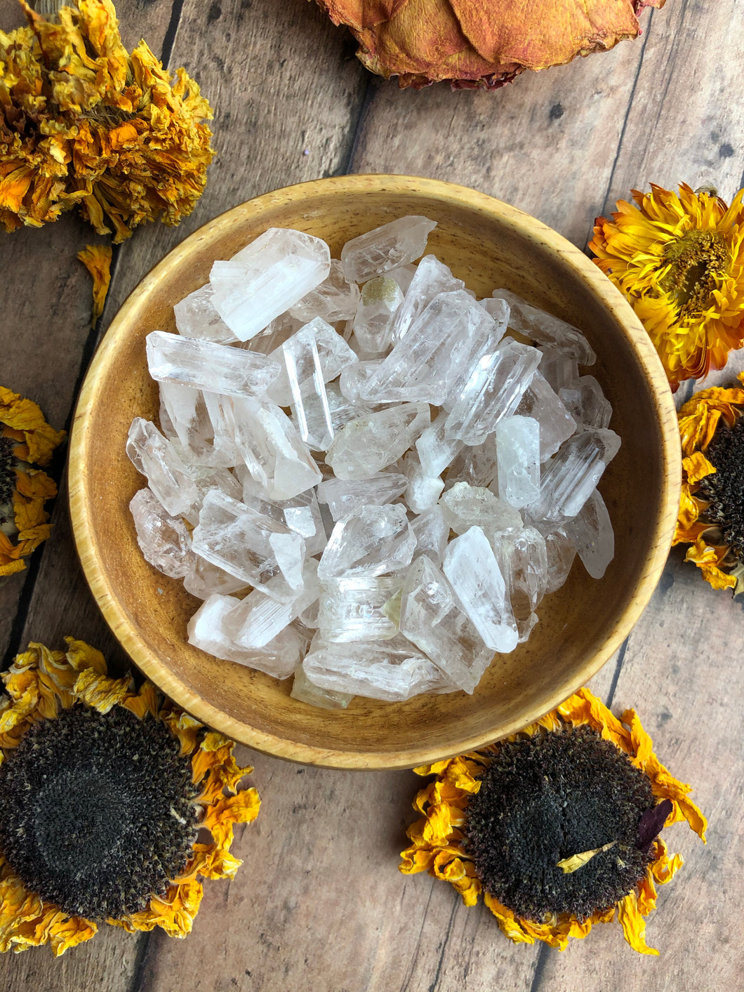 Danburite Rough Pieces for Spiritual Evolution