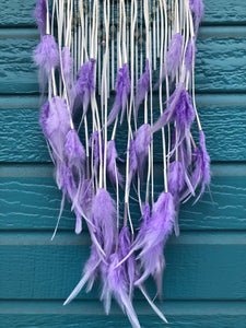 Lavender Goddess Amethyst Dream Catcher