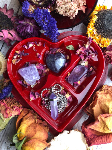 Lovers Amethyst Crystal Kit