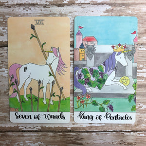 Crystal Unicorn Tarot