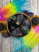 Rainbow Fluorite Raw Pieces for Intuition