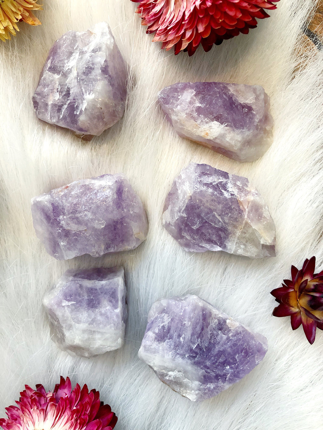 Amethyst Raw Rough Chunks for Intuition