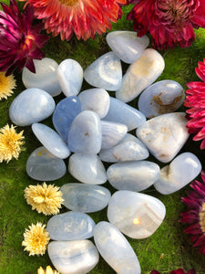 Blue Lace Agate for Encouragement & Support