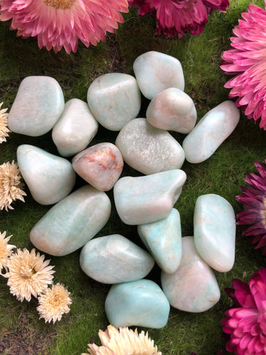 Amazonite for Soothing the Spirit