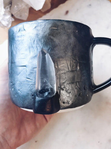 Ancient Lemurian Crystal Mug