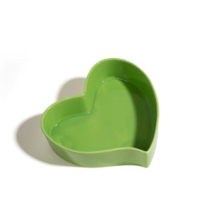 The Breakfast Criminals Ceramic Heart Bowl