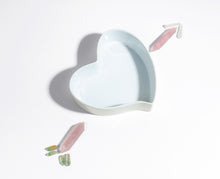 Load image into Gallery viewer, The Breakfast Criminals Ceramic Heart Bowl