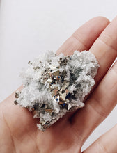 Pyrite White Quartz