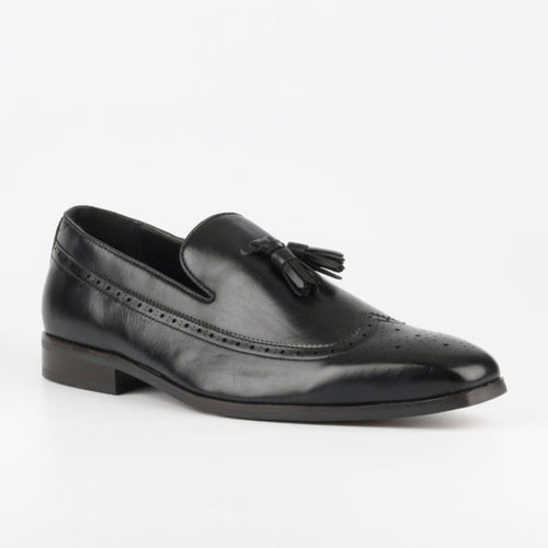 Grazie 28 Black Loafer - TheModernMan