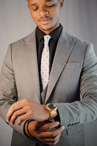 Dark Grey 3 piece Suit