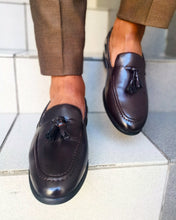 Load image into Gallery viewer, Choc leather loafer - TheModernMan