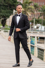 Load image into Gallery viewer, Black 007 Tuxedo