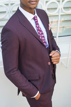 Load image into Gallery viewer, Maroon 3 Piece Suit - TheModernMan