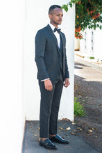 Load image into Gallery viewer, Black 3 piece Tuxedo - TheModernMan