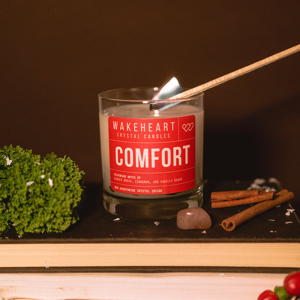 Comfort Crystal Candle