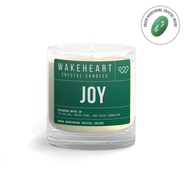 Joy Crystal Candle